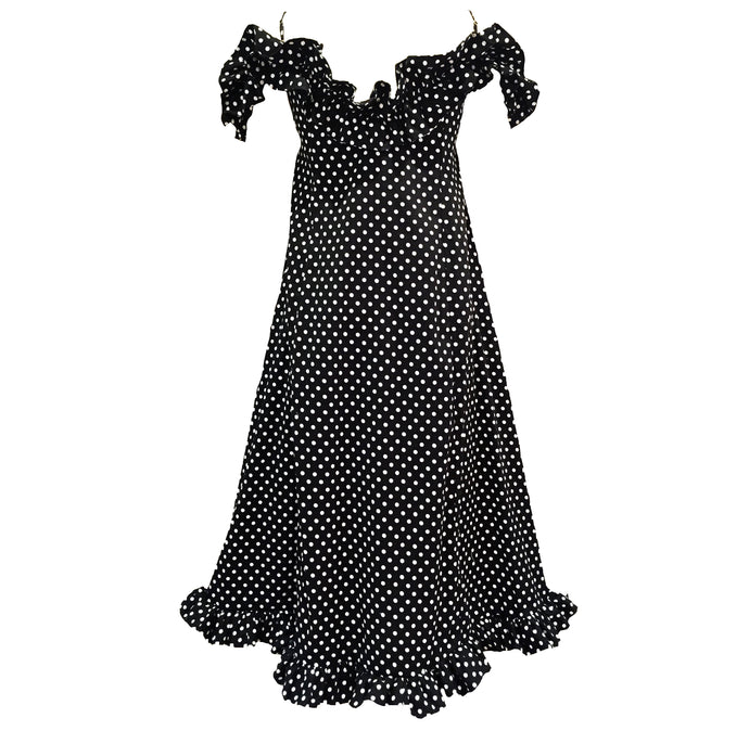 The Ella Frill Dress Polka Dot