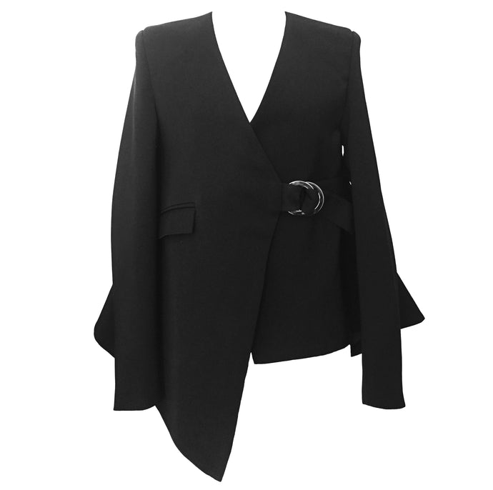 The Mei Tailored Wrap Blazer