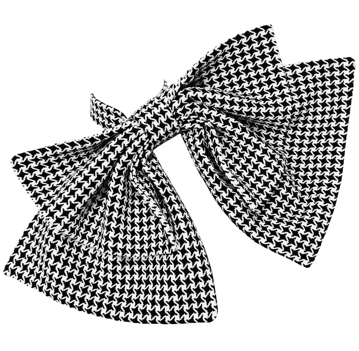 The Tie Me Up Bow Houndstooth