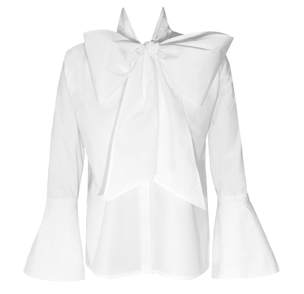 The London Dramatic Bow Shirt