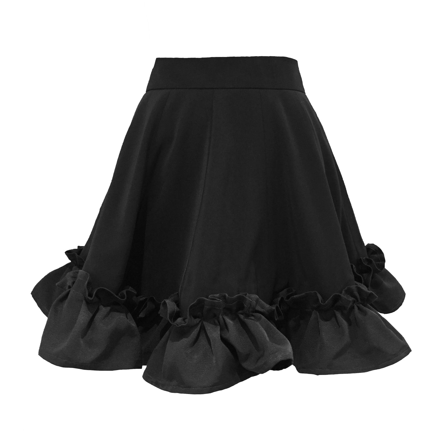 The Cleopatra Frill Mini Skirt