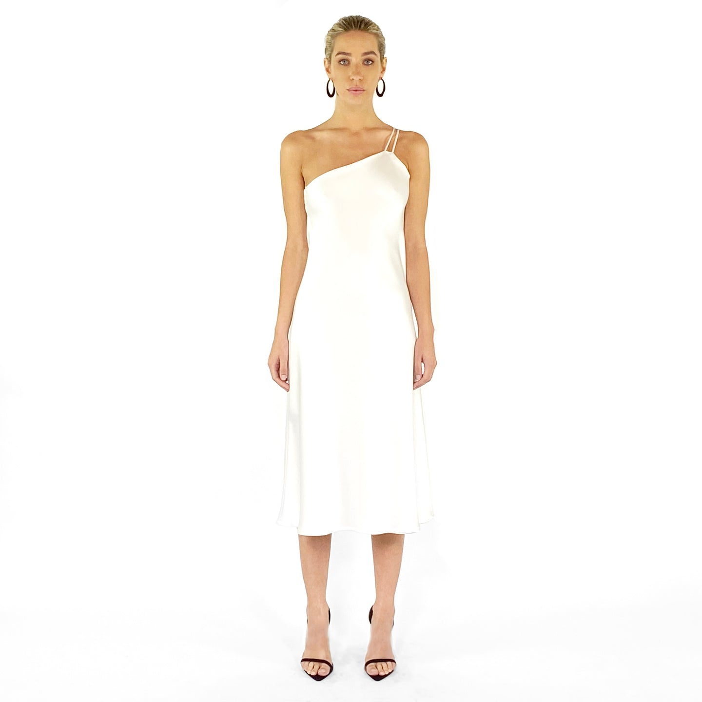 The Isla One Shoulder Slip Dress