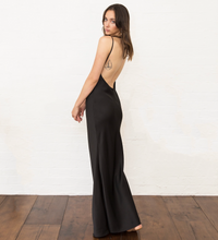 The Madysyn Backless Slip Gown