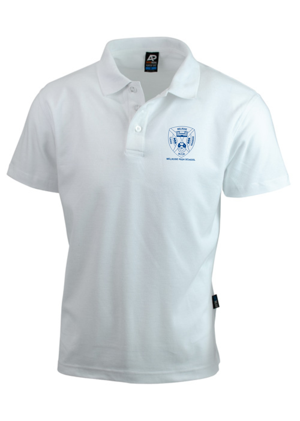 Melrose White Polo (Aussie Pacific Brand) IN STOCK