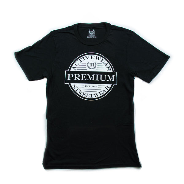 Men's Black Premium T Shirt