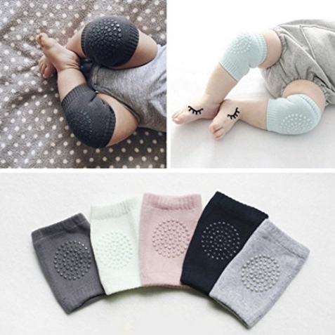 Infant Knee & Elbow Anti-Slip Crawling Pads