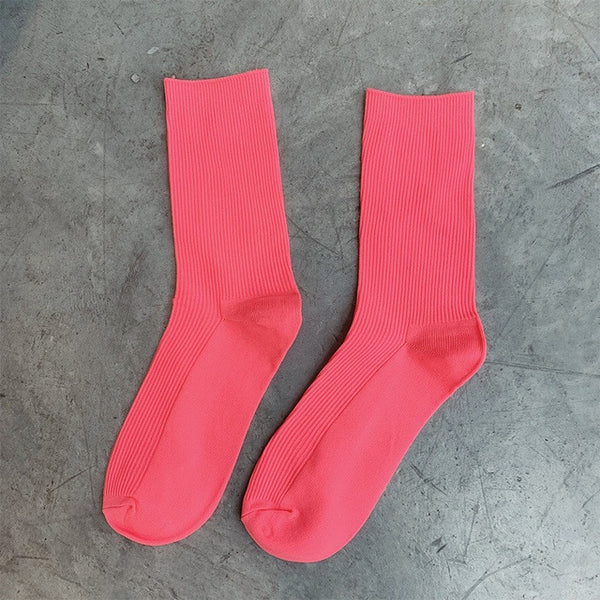 Fashion Candy Color Socks