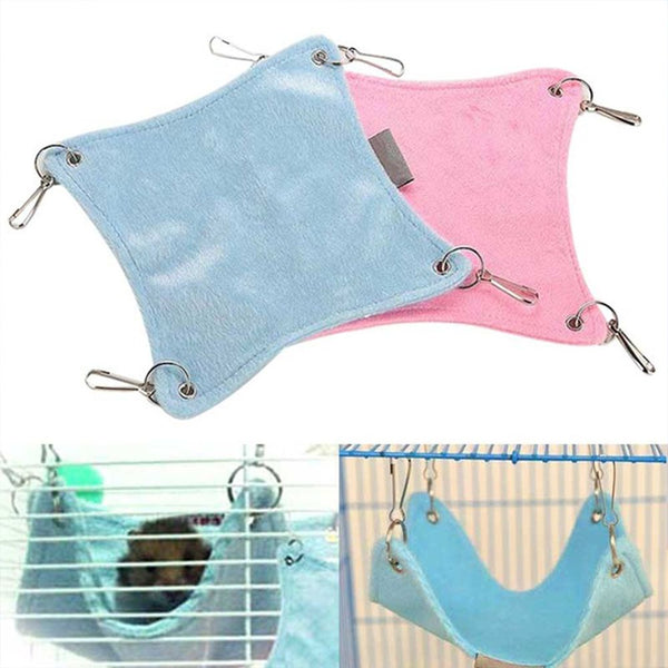 Plush Cloth Hammock for Small Pets