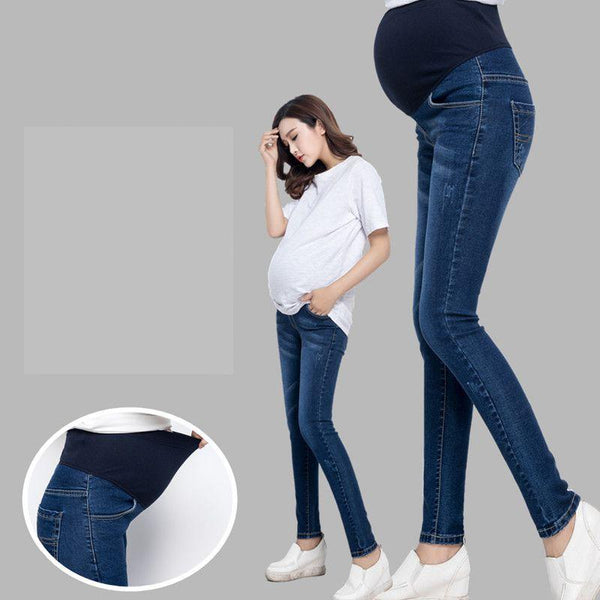 100% Cotton Maternity Jeans