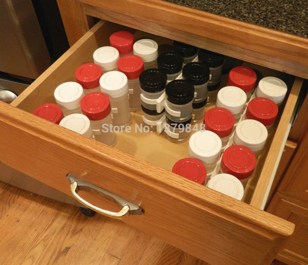 Cabinet Door Spice Holder 3 pcs Set