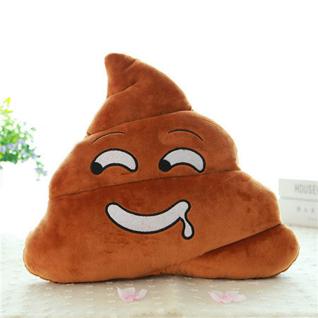 Stuffed Toy Poo Plush Cushion