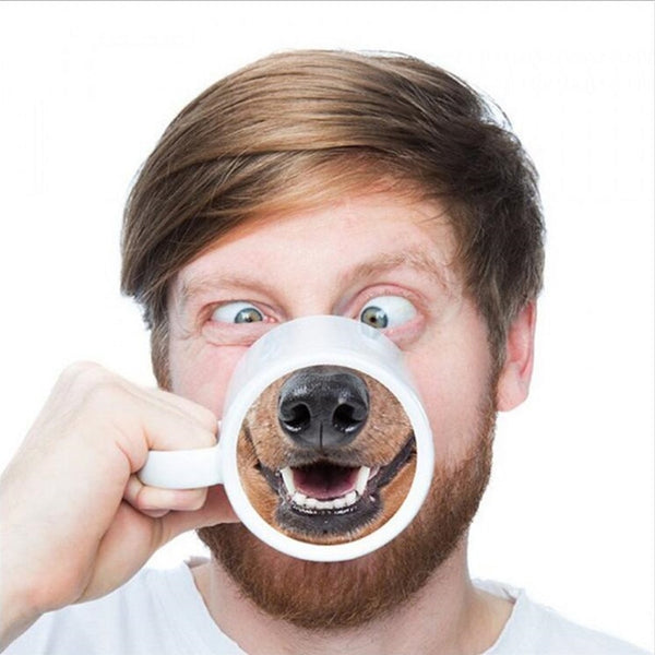 Funny Personalized Pig Nose Coffee Mug