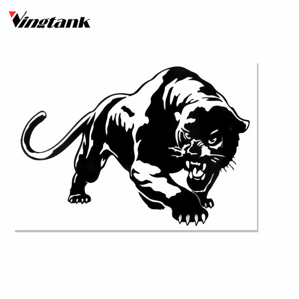 Vingtank Cool Tiger Car Sticker