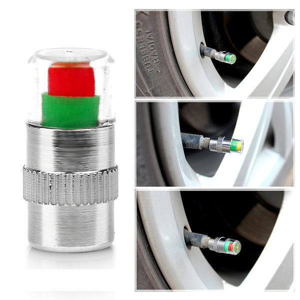 Color Changing Tire Pressure Monitor 4pcs