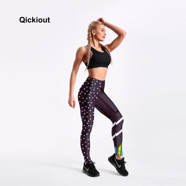 Athleisure Elastic Leggings