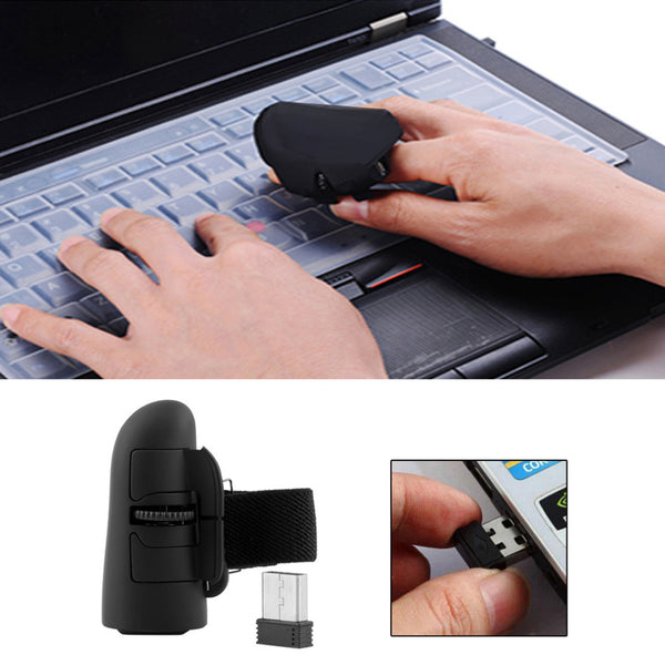 Wireless Finger Ring Optical Mouse