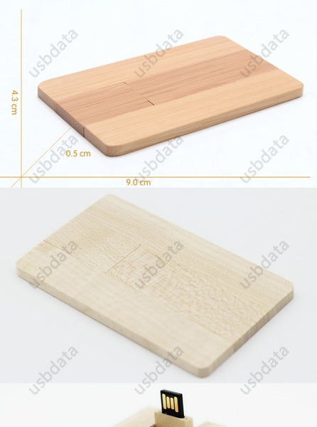 Original Real Wood Memory Stick Flash Pen Driver U Disk Drive