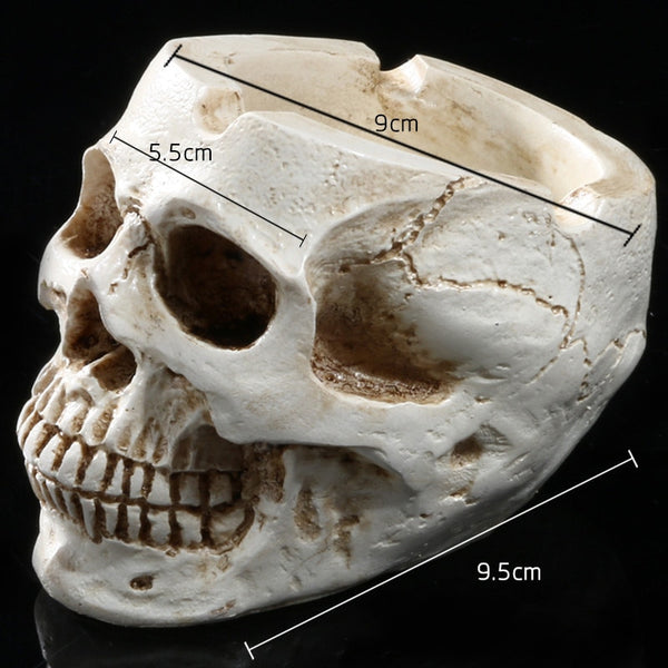 Special Skull Ashtray Fashion Resin Crafts Bar KTV Decor
