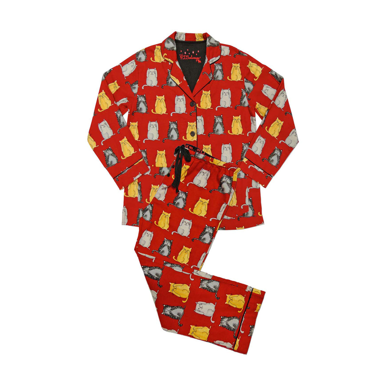 PAJAMA SET FALL INTO FLANELL