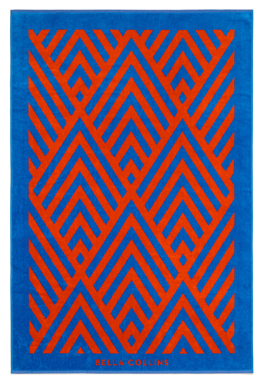 Beach Towel-Illusions