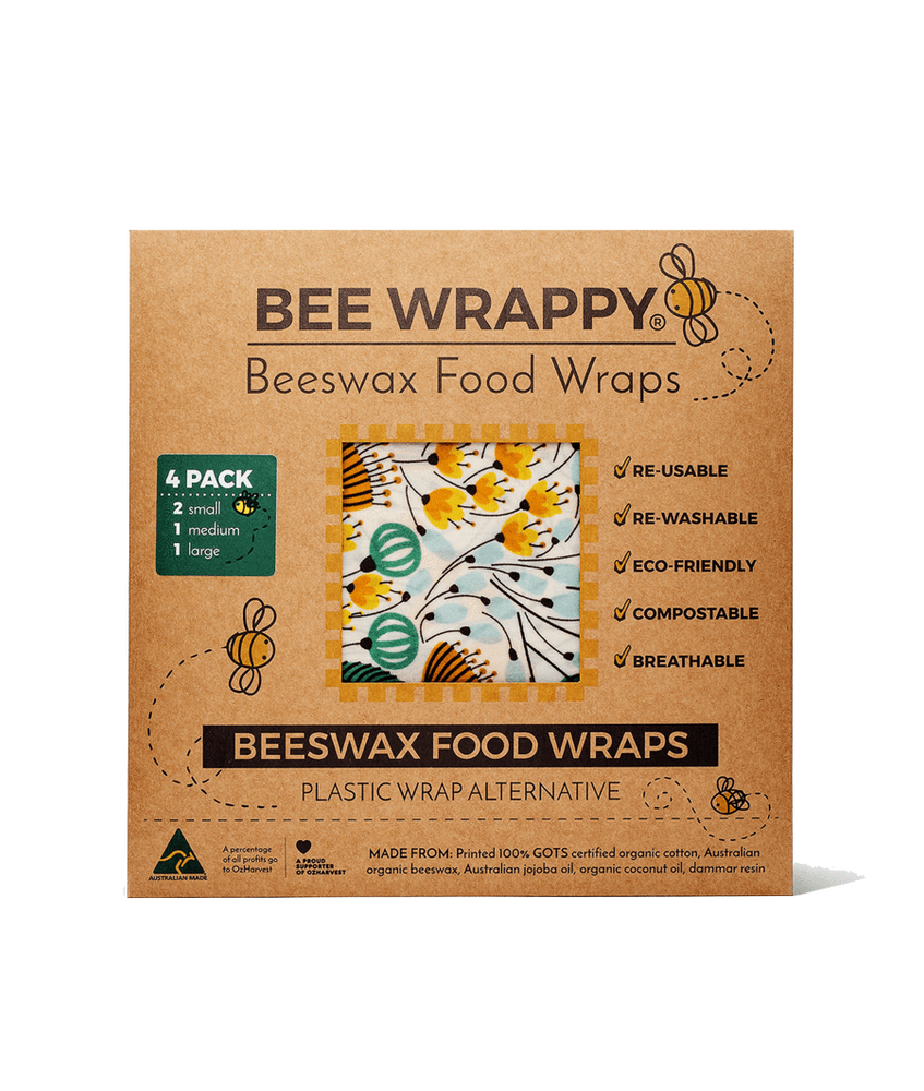 Bee Wrappy - Beeswax food wraps