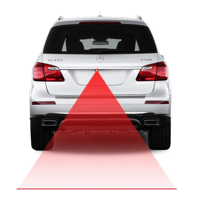 Car Laser Tail Anti-Collision Warning System