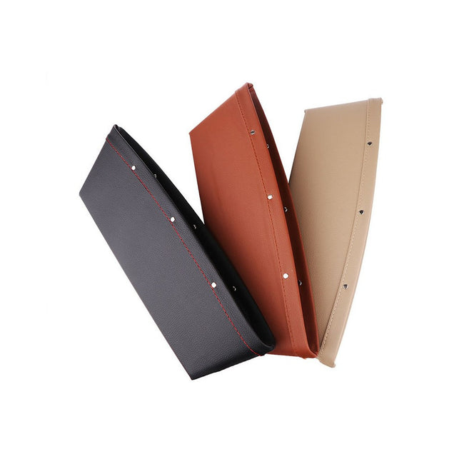 Leather Car Seat Gap Filler, Catcher & Pocket Organizer