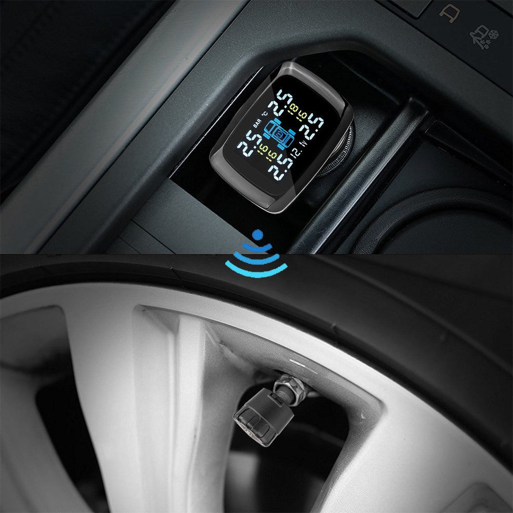 Wireless Tire Pressure Alarm System - Gadget My Car
