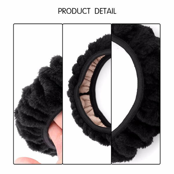 Plush & Fuzzy Steering Wheel Cover - Gadget My Car
