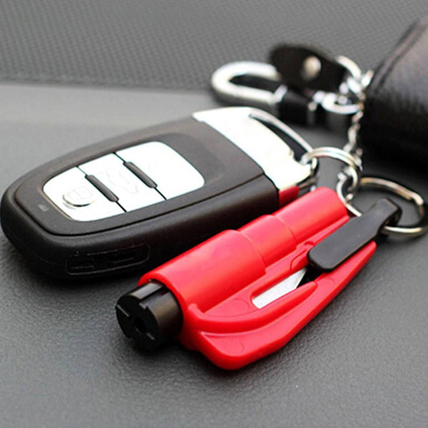 3-in-1 Emergency Escape Tool with Glass Breaker + Seat Belt Cutter - Gadget My Car
