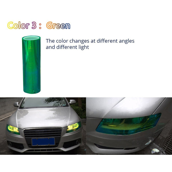 Chameleon Headlight Wrap - Gadget My Car