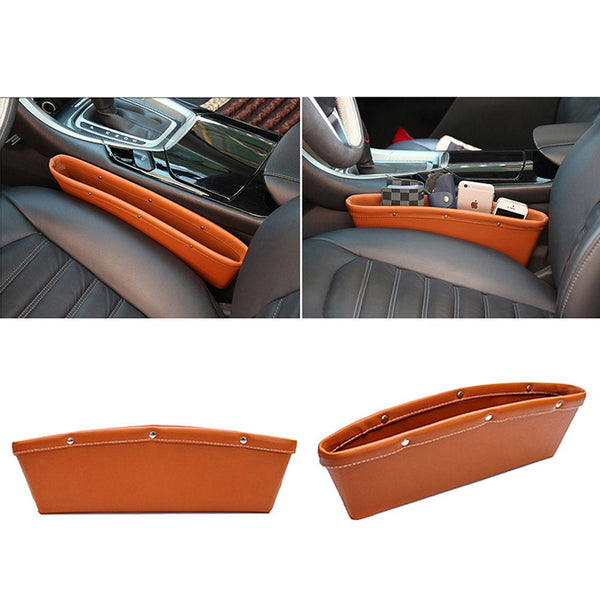 Leather Seat Pocket - Gadget My Car