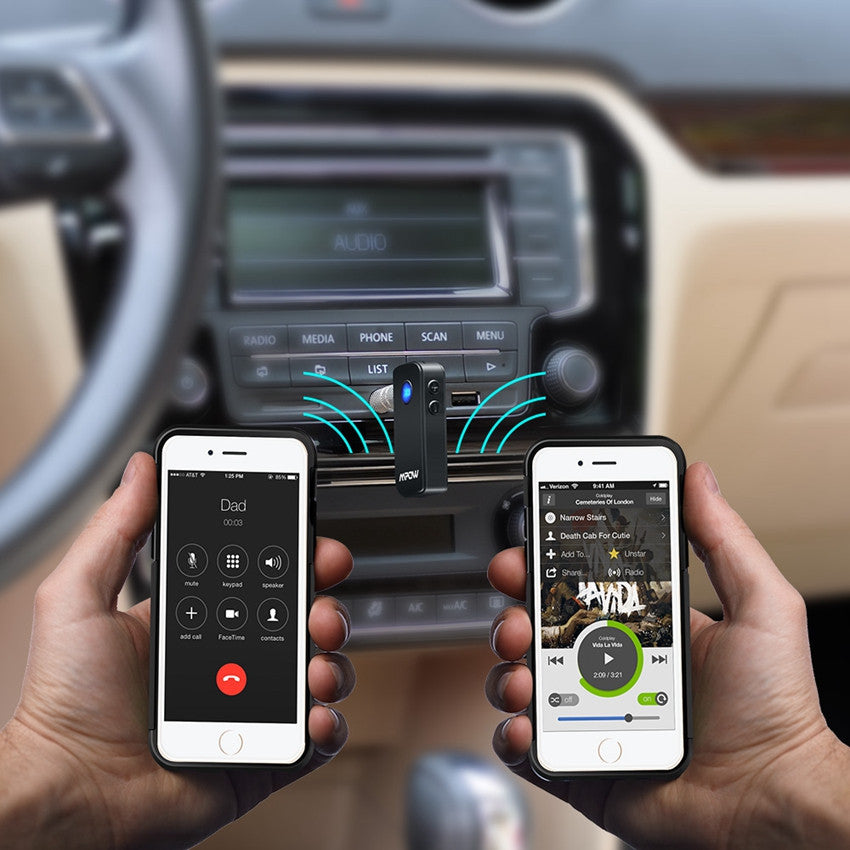 Bluetooth Adapter with Hands Free Calling - Gadget My Car
