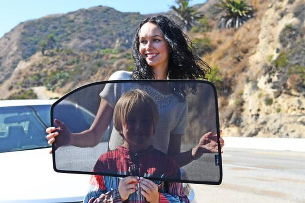 Customized Car Window Sunshade - Gadget My Car