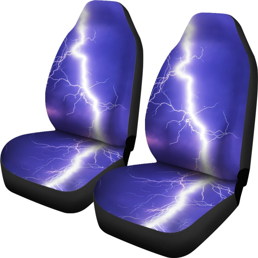 Lightning Car Seat Cover