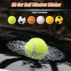 3D Car Ball Hits Window Sticker - Gadget My Car
