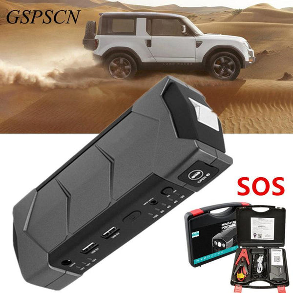 Portable Car Jump Starter 68800mAh Power Bank for Petrol and Diesel - Gadget My Car