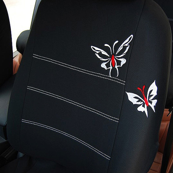 Embroidered Car Seat Cover - Gadget My Car
