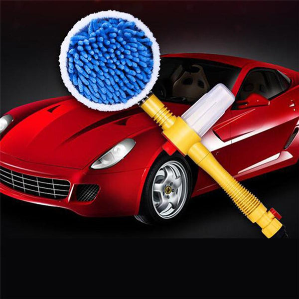 High Pressure Rotating Foam Brush Washer - Gadget My Car