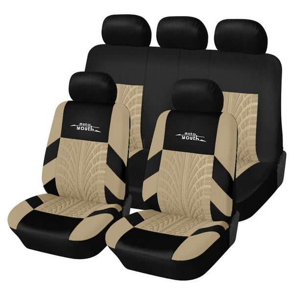 Tire Track Fashioned Car Seat Covers - Gadget My Car
