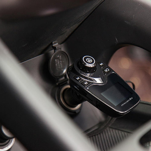 Wireless FM Transmitter & Charger - Gadget My Car