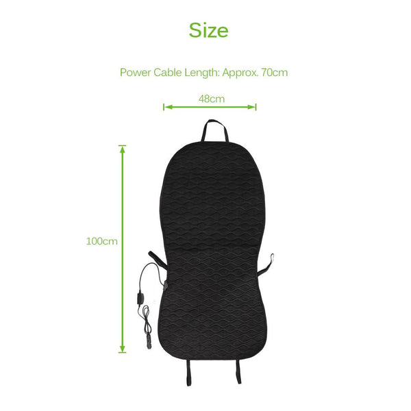 Heated Car Seat Cushion Cover - Gadget My Car