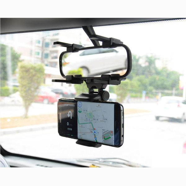 Rearview Mirror Smartphone Mount - Gadget My Car