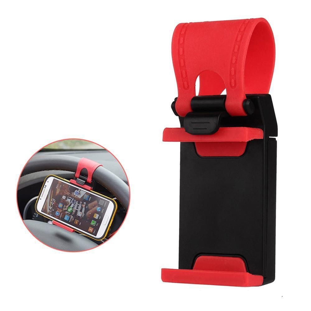 Steering Wheel SmartPhone Holder - Gadget My Car