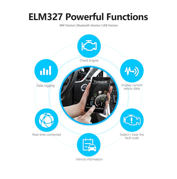 ELM OBD Diagnostic Tool Bluetooth (App) - Gadget My Car