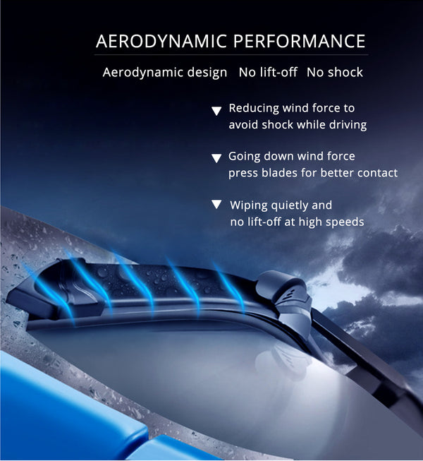 Aerodynamic Wiper Blade For Nissan