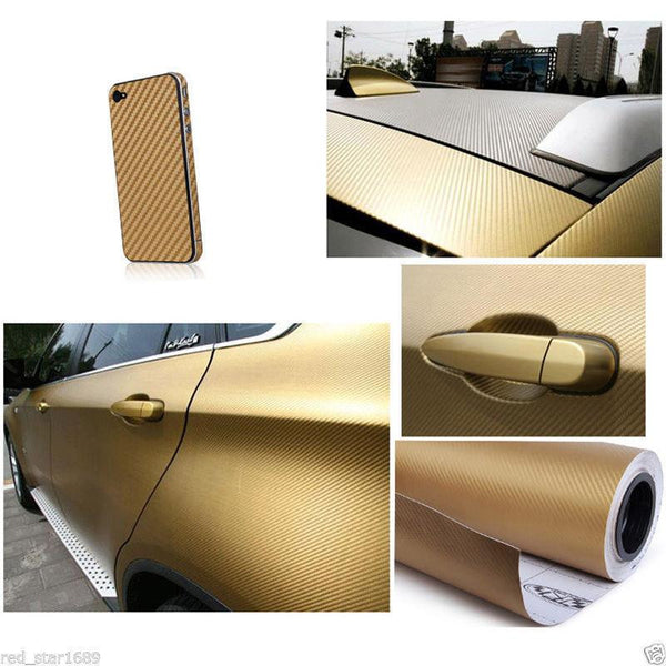 3D Carbon Fiber Vinyl Car Wrap - Gadget My Car