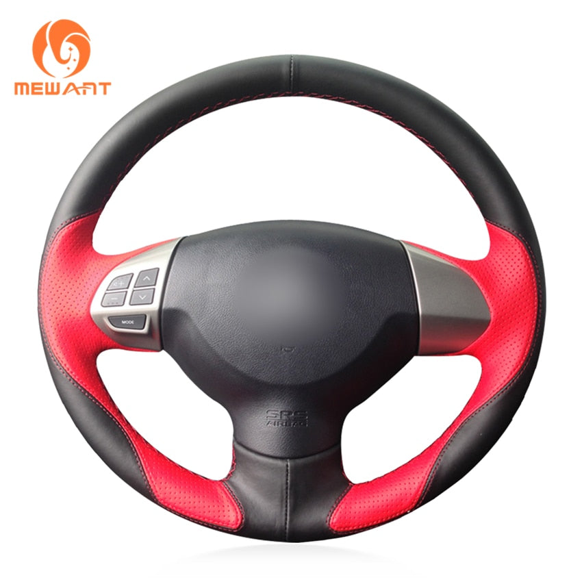 Leather Steering Wheel Cover for Mitsubishi - Gadget My Car