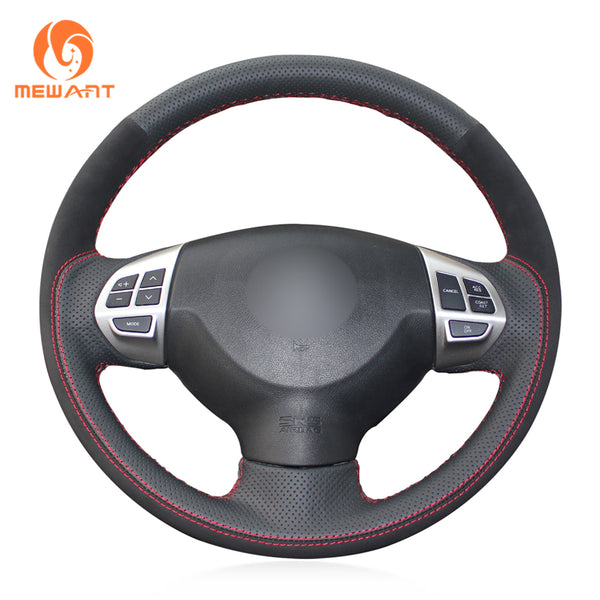 Leather Steering Wheel Cover for Mitsubishi
