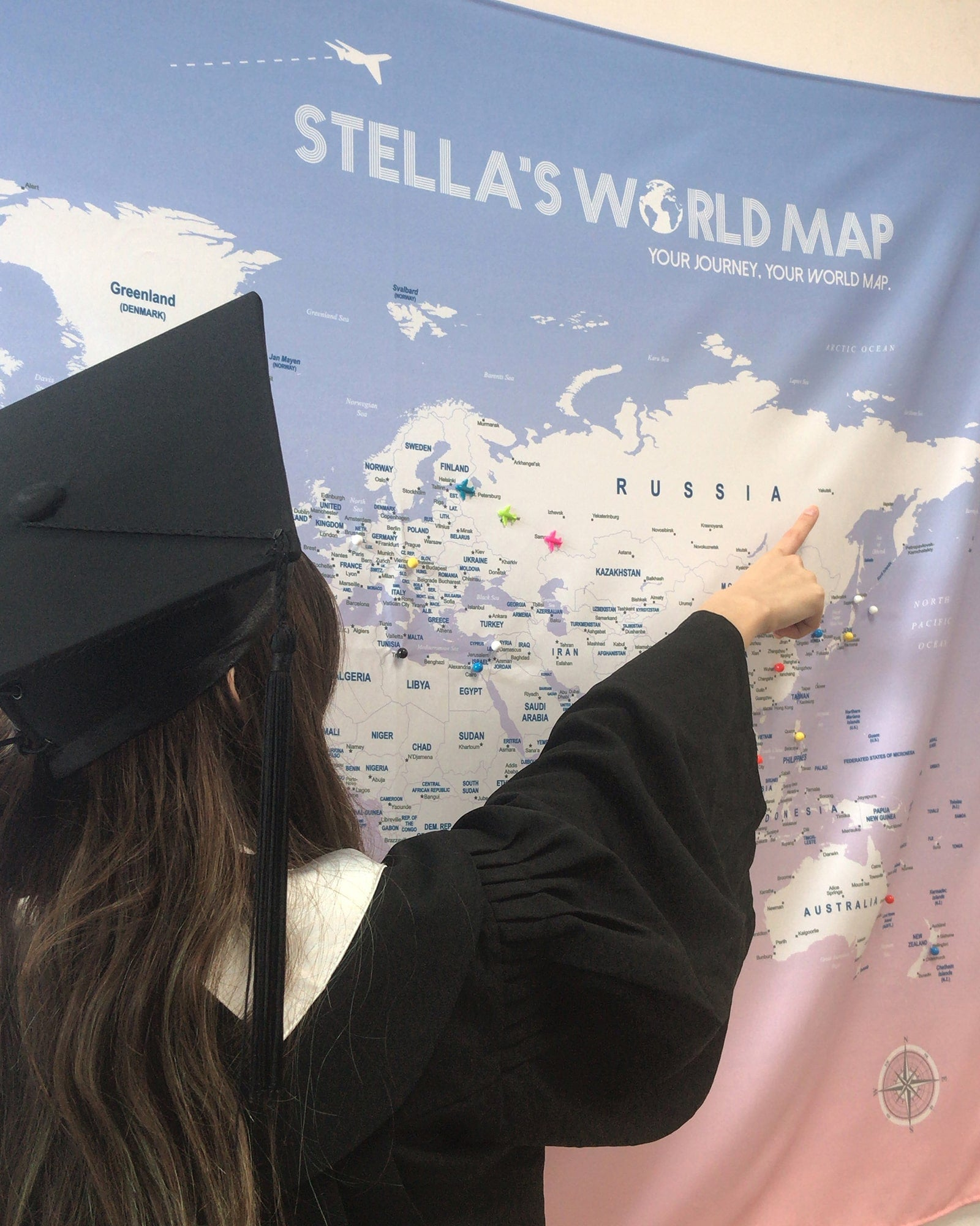 UMap World Map is the best graduation gift